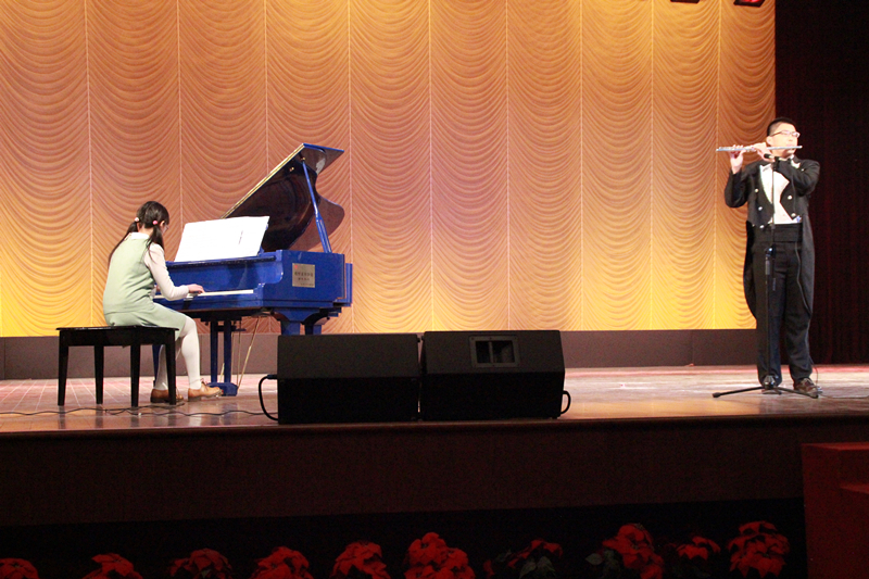 《天空之城》长笛与钢琴